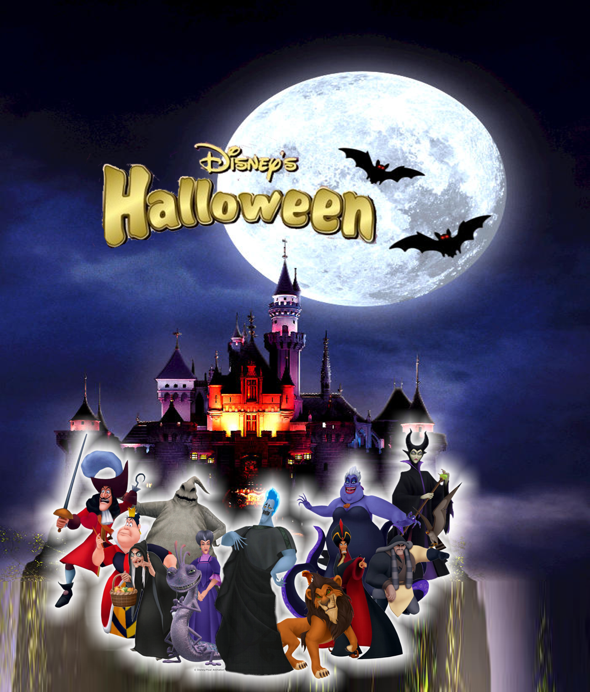Image - Disney's Halloween of The Villains.png | Disney Wiki ...