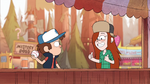 Gravity Falls S1e9 Wendy thumbs up