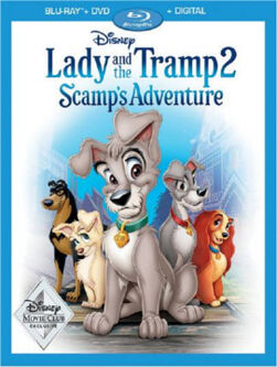 Lady and the Tramp 2 DMC Blu-Ray