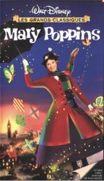 Mary Poppins Late 1990s France VHS