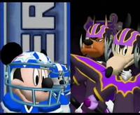 Mickey Super stars v.s Mortimer Imperials in Disney Sports Football