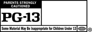 Pg-13 logo