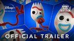Pixar Forky Asks A Question – Official Trailer Disney+ Start Streaming Nov