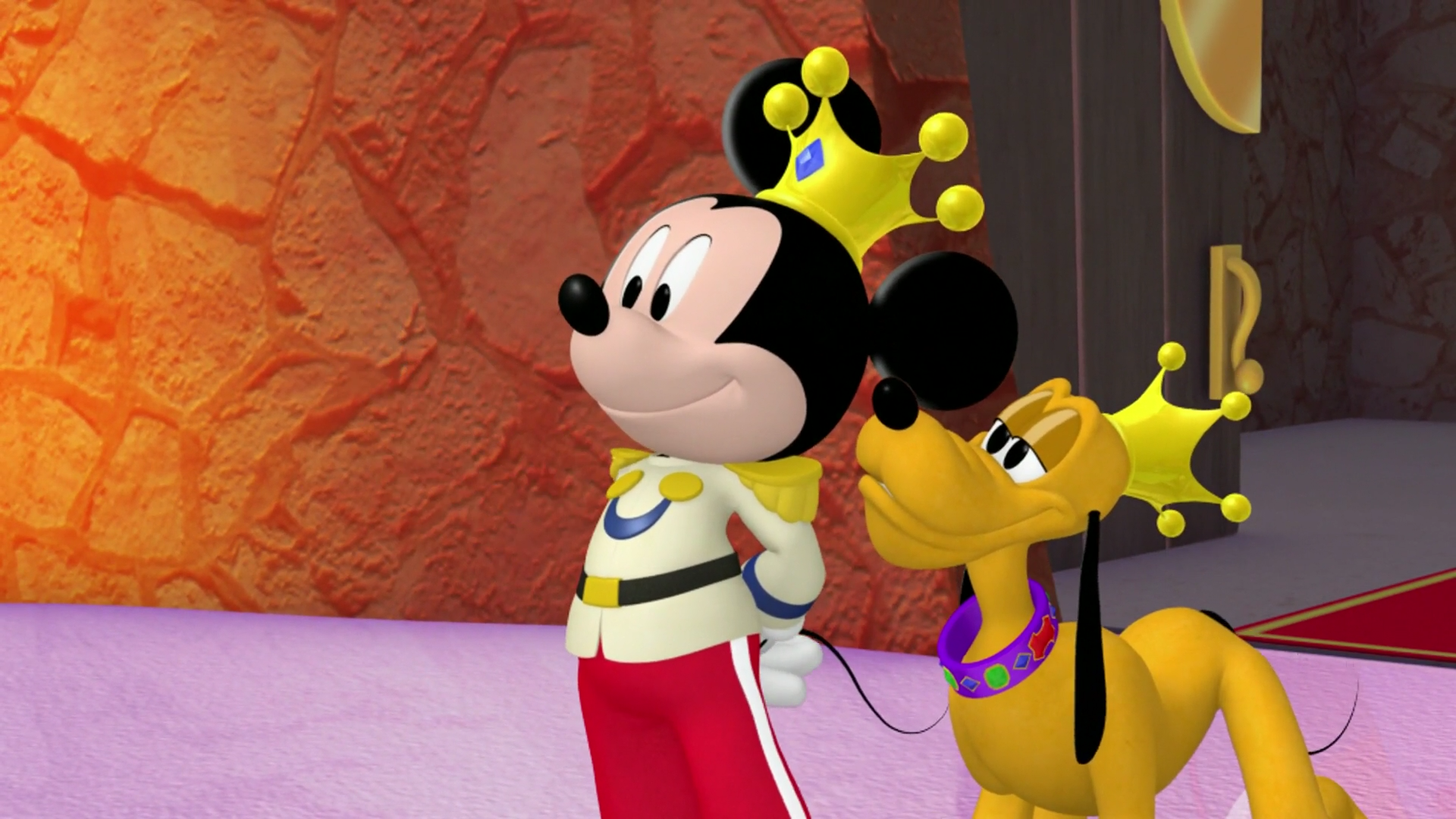 Uncategorized Mickey And Pluto image prince mickey and pluto minnierella png disney png