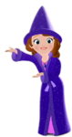 Sofia's sorcerer outfit