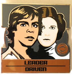 Star Wars - Zodiac Mystery Collection - Capricorn Luke Skywalker and Princess Leia Chaser ONLY