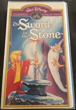 The Sword in the Stone 1999 AUS VHS