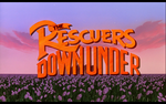 The rescuers down under 1