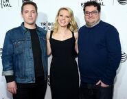 Beck Bennett Kate McKinnon & Bobby Moynihan Tribeca Film Fest