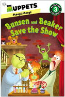 Bunsen and beaker save the show final cover art