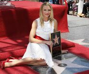 Cameron Diaz Hollywood Walk of Fame