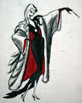 Concept art for Cruella04