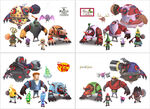 Disney universe bad guy concepts by seandonaldson-d78clmf