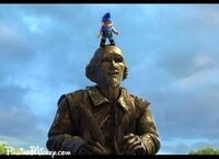 Gnomeo and William Shakespeare