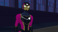 Ironheart in Marvel Rising