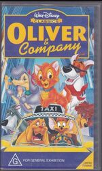 Oliver & Company 1997 AUS VHS