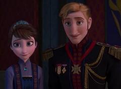 Rey y Reina de Arendelle