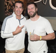 Rob Riggle & Taran Killam at Xbox Launch event