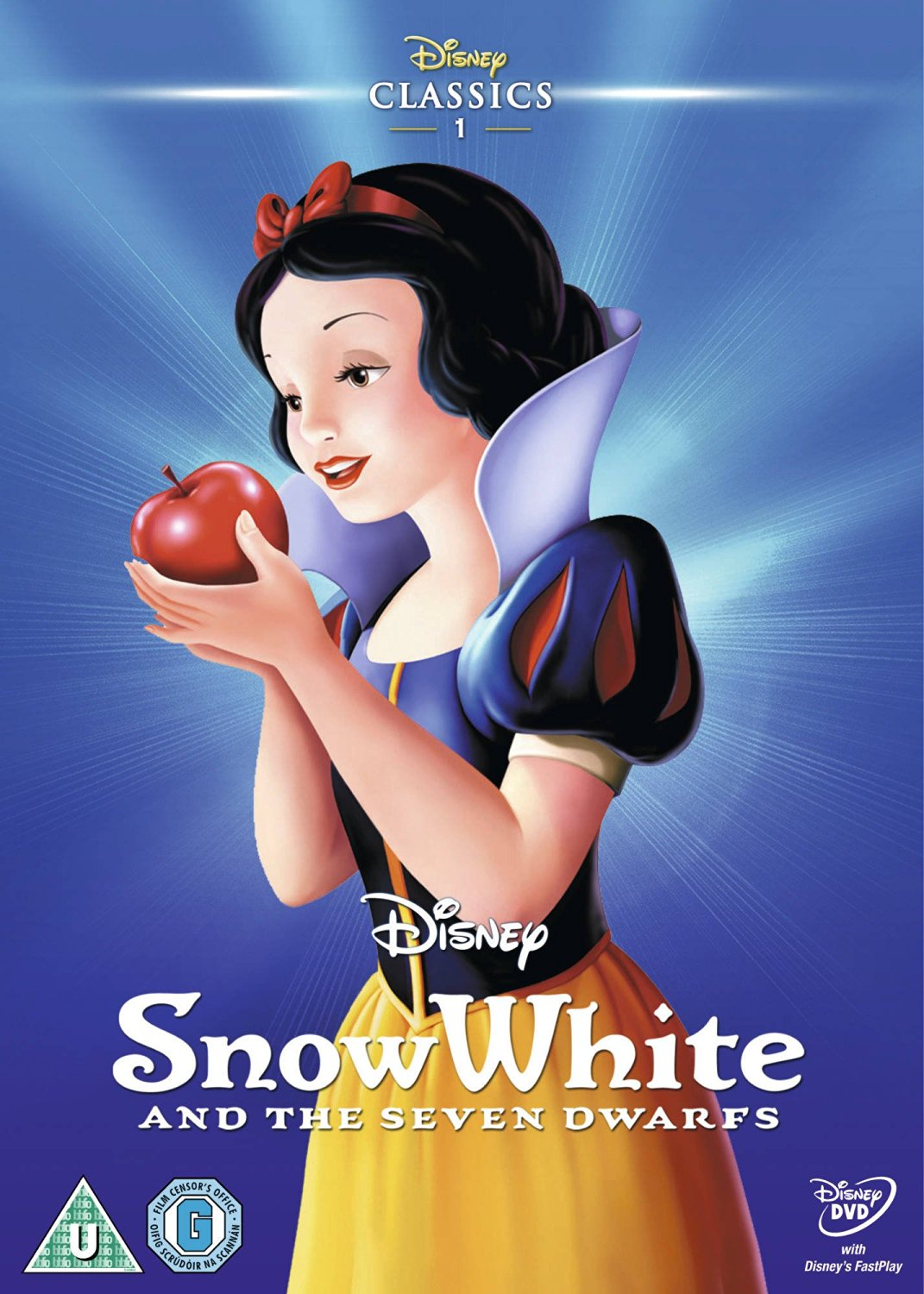 Snow white and the seven dwarfs uk dvd 2014 limited edition slip cover jpg