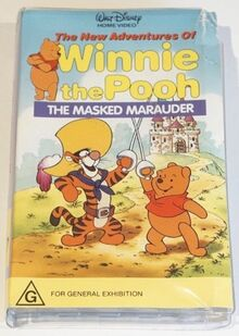 The New Adventures of Winnie the Pooh The Masked Marauder 1990 AUS VHS