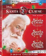 The Santa Clause 3-Movie Collection Blu-ray 2019