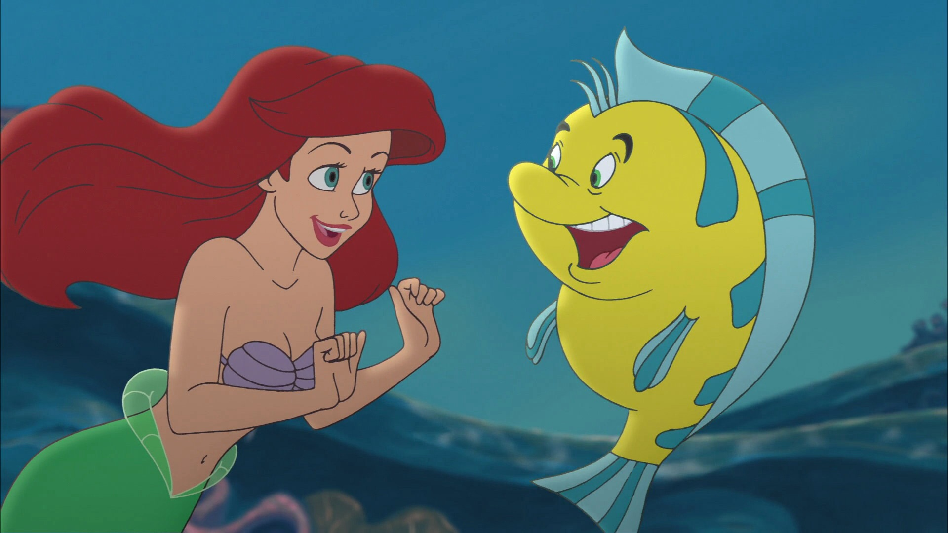 What colour is flounder