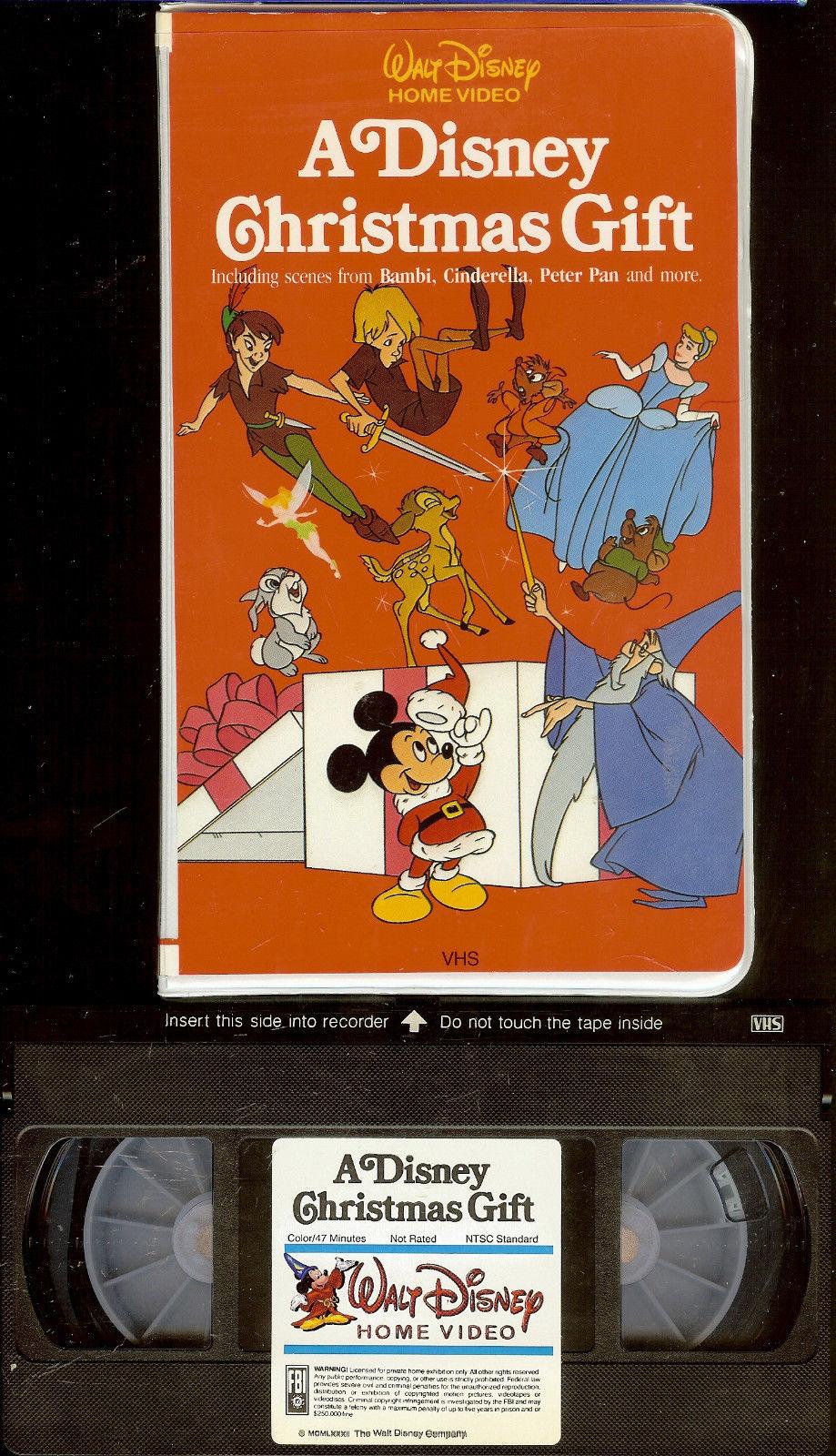 Image - A Disney Christmas Gift VHS Front.JPG | Disney Wiki ...