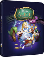 Alice in Wonderland Steelbook