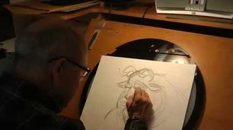 Glen Keane Drawing The Beast