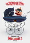 Incredibles 2 Royal Baby poster