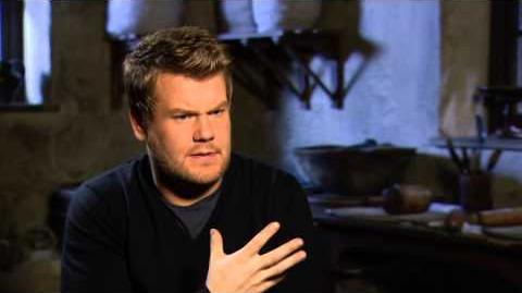 "Into the Woods James Corden ""Baker"" Behind the Scenes Movie Interview"