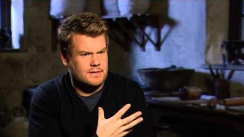 "Into the Woods James Corden ""Baker"" Behind the Scenes Movie Interview"
