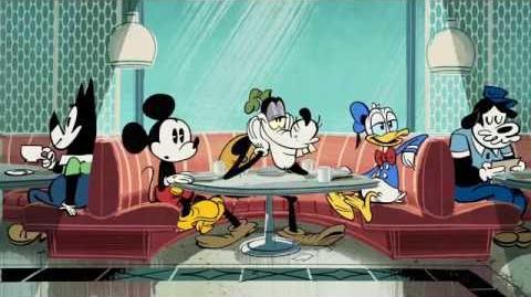 Mickey Mouse Goofy's Eerste Liefde Disney NL