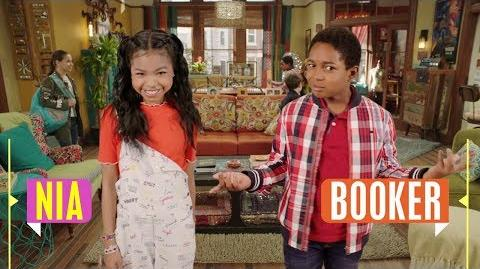 Nia & Booker Raven's Home Disney Channel