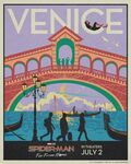 Spider Man Far From Home - Venice Poster