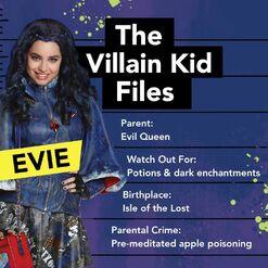 The Villain Kid Files - Evie