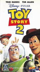 Toy story 2 australia vhs