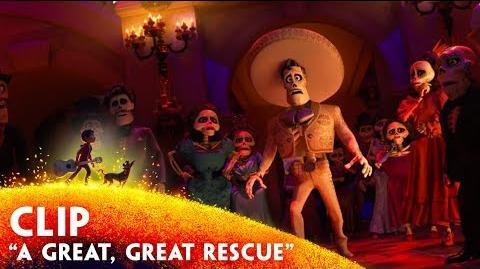 "'A Great, Great Rescue"" Clip - Disney Pixar's Coco"