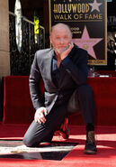 Ed Harris Walk of Fame ceremony