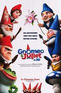 Gnomeo & and Juliet Poster