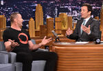 Hugh Jackman visits Jimmy Fallon