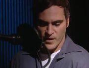 Joaquin Phoenix behind the scenes Bro Bear