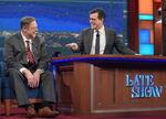John Goodman visits Stephen Colbert