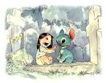 Lilo Stitch art