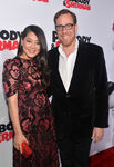 Rob Minkoff & wife Crystal Kung Mr. Peabody & Sherman permiere