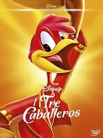 The Three Caballeros Italy DVD