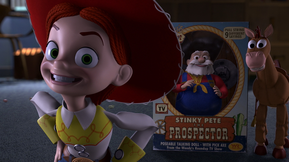 Who is jessie dating in toy story