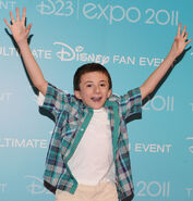 Atticus Shaffer D23 Expo11