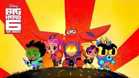 Big Hero 6 The Series Karmi's Fan Fiction Comic-Con 2018 Exclusive Disney Channel