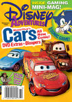 Disney Adventures Magazine cover November 2006 Cars movie